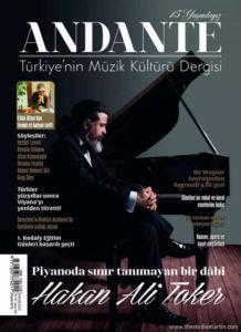 Andante Müzik Kültürü Dergisi Kapak