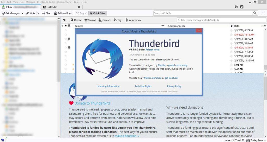 Thunderbird ile e-mail hesaplarınızı Outlook'a alternatif olarak bilgisayarınızda yönetebilirsiniz.